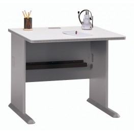 Series A Pewter 36 Inch Desk