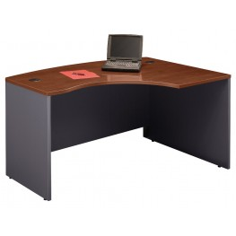Series C Hansen Cherry 60 Inch RH L-Bow Desk Shell