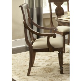 Rustic Tradition Splat Back Arm Chair