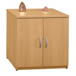 Series C Light Oak 30 Inch Storage Cabinet