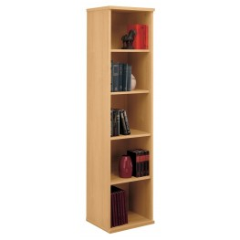 Series C Light Oak 18 Inch 5-Shelf Bookcase