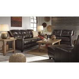 O'Kean Mahogany Living Room Set