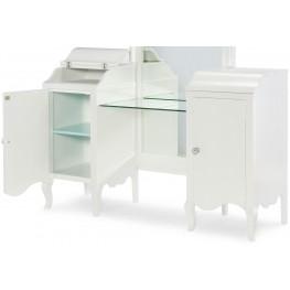 Tiffany Pearlized White Vanity