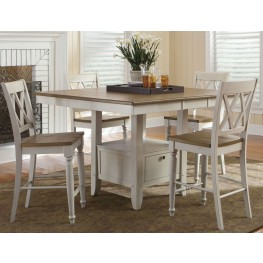 Al Fresco III Gathering Extendable Dining Room Set