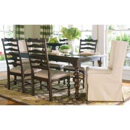 Paula Deen Home Tobacco Rectangular Extendable Dining Room Set From Paula Dee