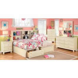 Cottage Retreat Youth Bedside Storage Bedroom Set