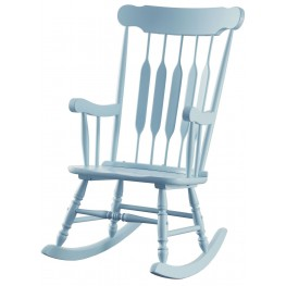Blue Rocker Chair