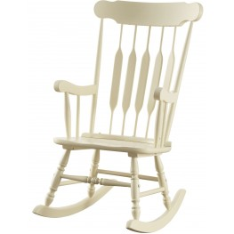 Yellow Rocker Chair