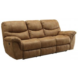 Hancox Light Brown Reclining Sofa