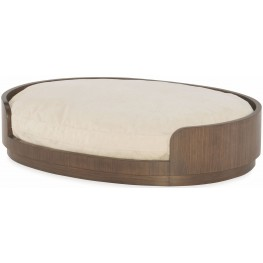 Soho Ash Dog Bed with Reversible Cushion