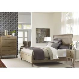 AD Modern Classics Dark Oak Espresso Stain Craven Platform Bedroom Set
