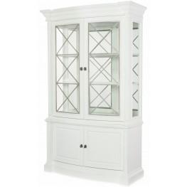 Upstate Bianco Display Cabinet