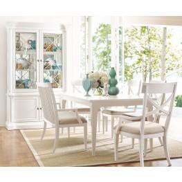 Upstate Bianco Extendable Leg Dining Room Set