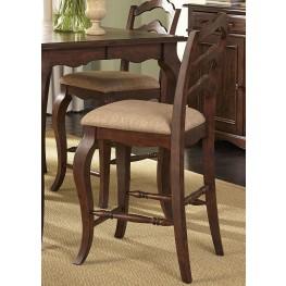 Woodland Creek Ladder Back Counter Chair