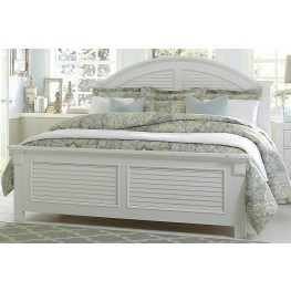 Summer House Oyster White Panel Bedroom Set
