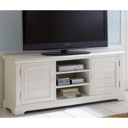 Summer House Oyster White Entertainment TV Stand