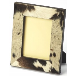 San Angelo Hair-On-Hide Brown Picture Frame