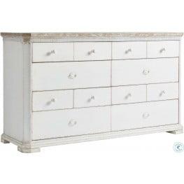 Juniper Dell 17th Century White Dresser