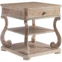 Juniper Dell English Clay End Table