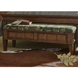 Rocky Mountain Whiskey Brown Bed Bench