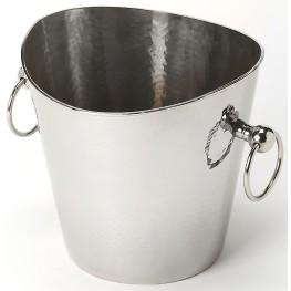 Mendocino Hammered Stainless Steel Wine Bucket
