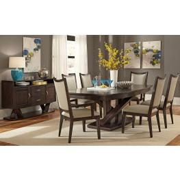 Southpark Pedestal Extendable Dining Room Set
