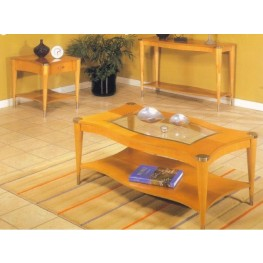 Sausalito Natural Rectangular Occasional Table Set