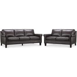 Cambria Andover Gray Living Room Set