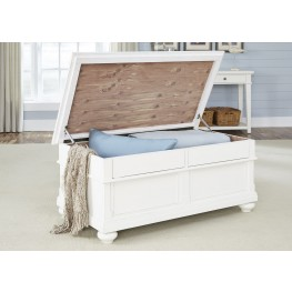 Harbor View Linen Storage Trunk