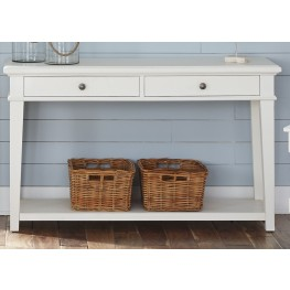 Harbor View Linen Sofa Table