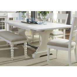 Harbor View II Extendable Trestle Dining Table