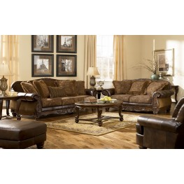Fresco DuraBlend Antique Living Room Set