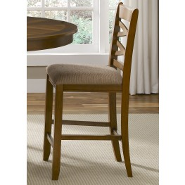 Bistro Double X Back Counter Height Chair