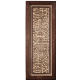 Tea Stained Abstract Paper Wall Art