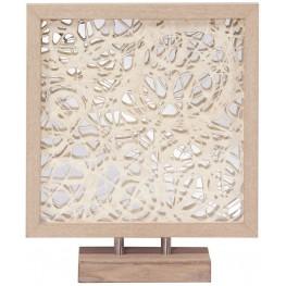 Blonde Tree Bark Abstract Wall Art