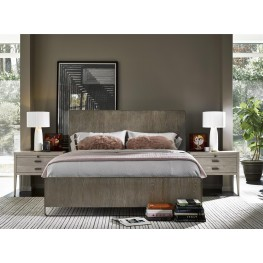 Keaton Charcoal Platform Bedroom Set