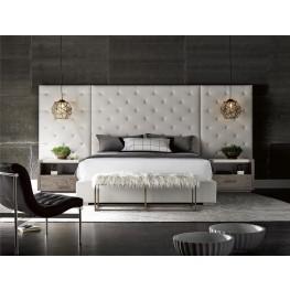 Brando Cream Wall Panel Platform Bedroom Set