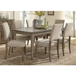 Weatherford Rectangular Leg Dining Room Set
