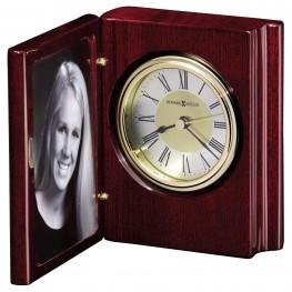 Portrait Book Table Clock