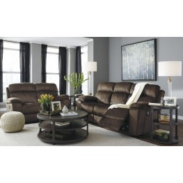 Uhland Chocolate Power Reclining Living Room Set