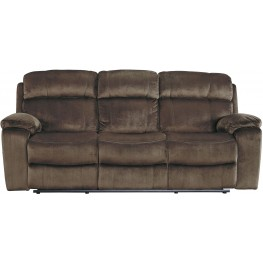 Uhland Chocolate Power Reclining Sofa