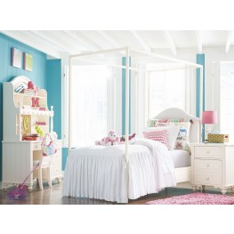 Summerset Ivory Youth Upholstered Canopy Bedroom Set