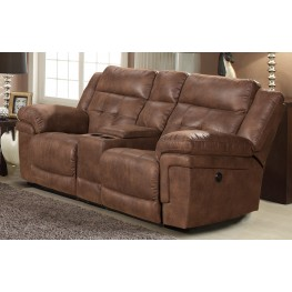 Charleston Vagabond Glider Reclining Loveseat With Console