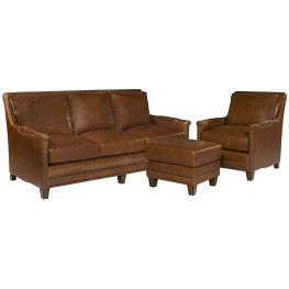 Prescott Brooklyn Saddle Living Room Set