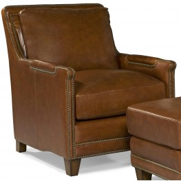 Prescott Brooklyn Saddle Leather Chair
