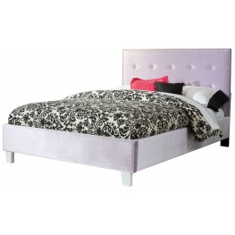 Young Parisian Lavender Full Upholstered Bed