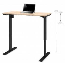 """48"""" Northern Maple Electric Height Adjustable Table"""