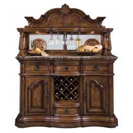 San Mateo Sideboard and Hutch