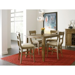 "The Nook Oak 60"" Counter Height Dining Room Set"