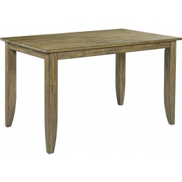 "The Nook Oak 60"" Counter Height Dining Table"